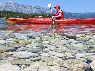 Adventure-Sport-Fun-Korčula kayaking
