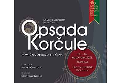 Opera 'Opsada Korčule'-Tourist Board Korcula