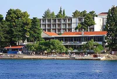 Korčula beaches - Hotel 'Park' city beach